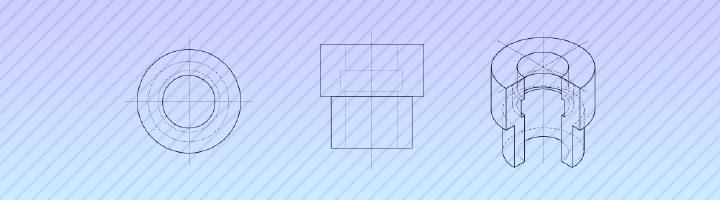 LibreCAD Isometric Projection